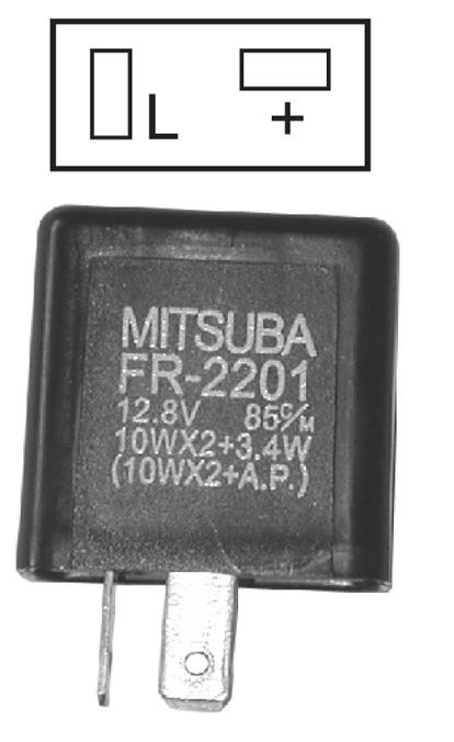 Relais clignotant 12 V - 10 W