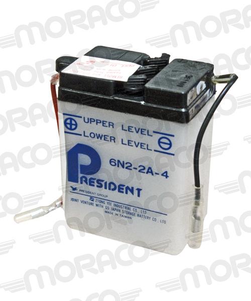 Batterie GS 6N2-2A-4