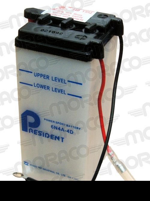 Batterie GS 6N4A-4D
