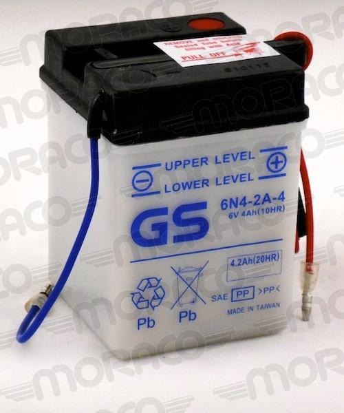 Batterie GS 6N4-2A-4