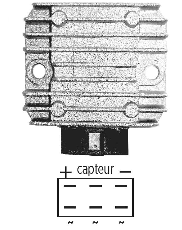 Régulateur 12V KAWASAKI KL/KLR 600/650