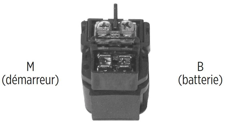 Télérupteur carré 12 V