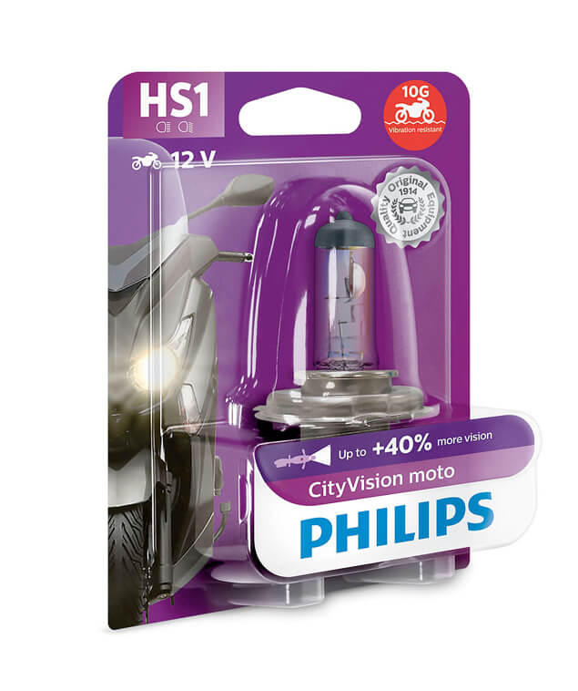 Lampe Philips - HS1 - City Moto Vision