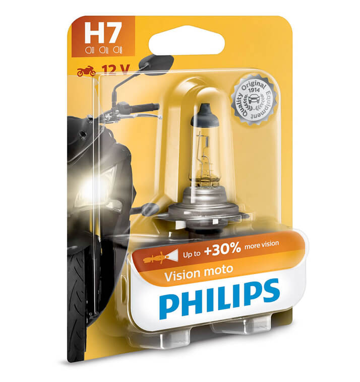 Lampe Philips - H7 - Vision Moto