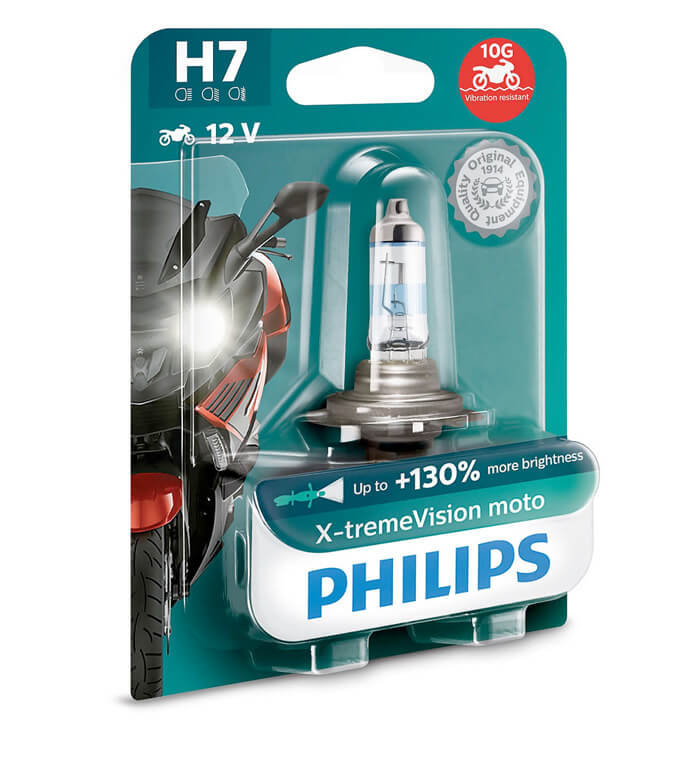 Lampe Philips - H7 - X-Treme Vision Moto