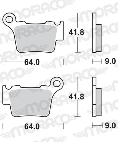 Plaquettes de frein moto SBS 791SI