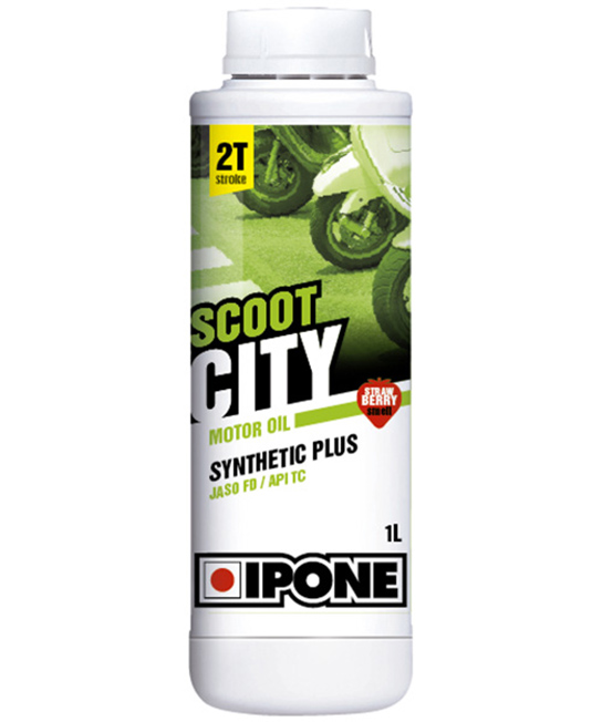 Ipone Scoot City - Senteur fraise (1 litre)
