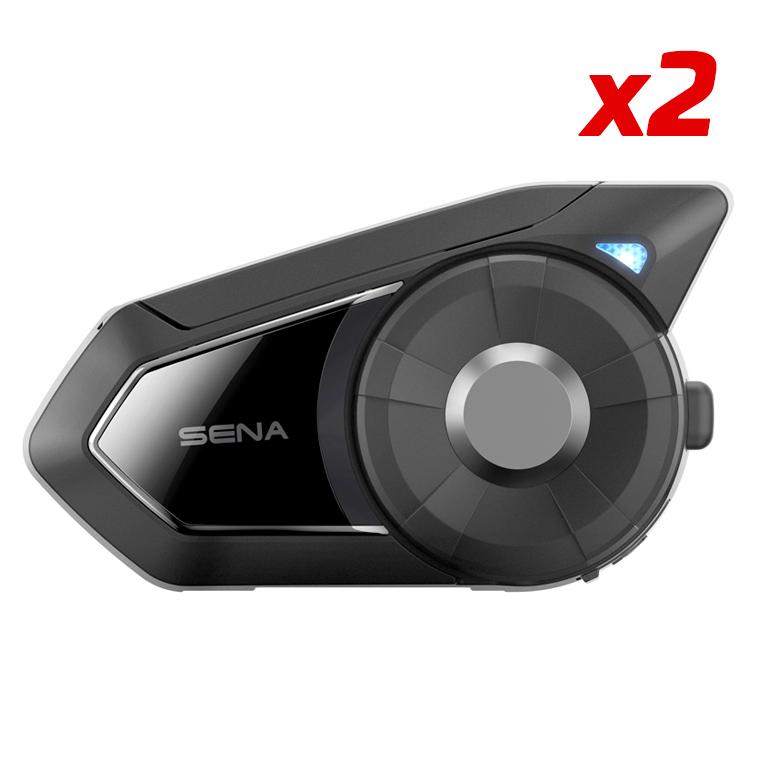 *Syst. de com. SENA 30K x 2(DUO) pour moto Ecouteurs HD