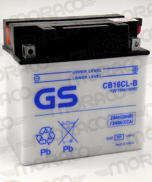 Batterie GS CB16CL-B