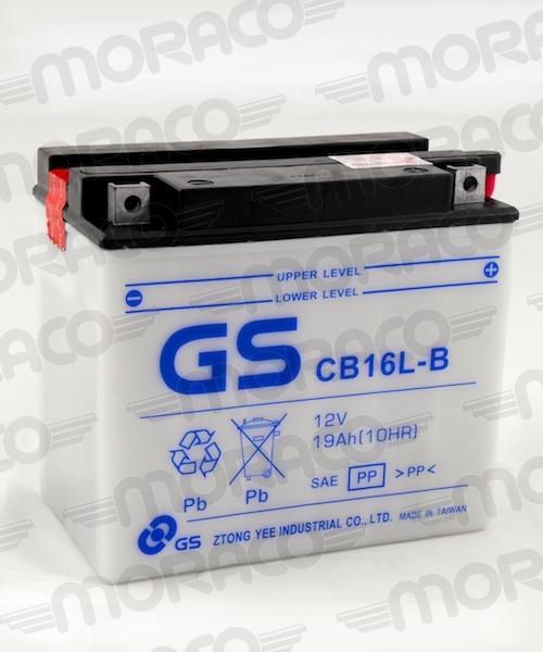 Batterie GS CB16L-B