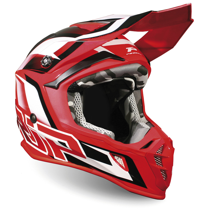 CASQUE PROGRIP 3180 TAILLE XS ROUGE/BLANC