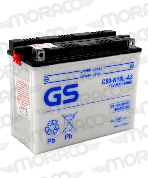 Batterie GS C50-N18L-A3