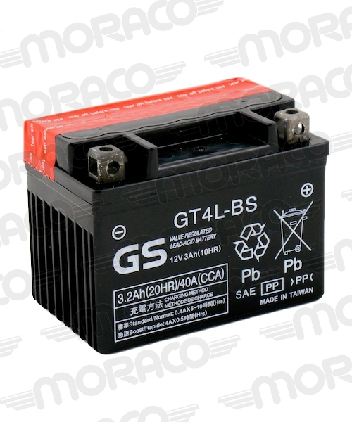Batterie GS GT4L-BS