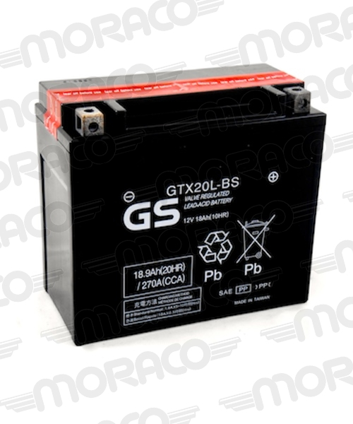 Batterie GS GTX20L-BS