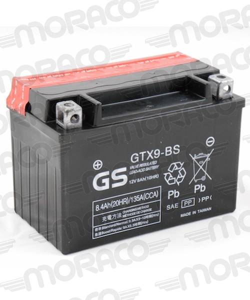 Batterie GS GTX9-BS