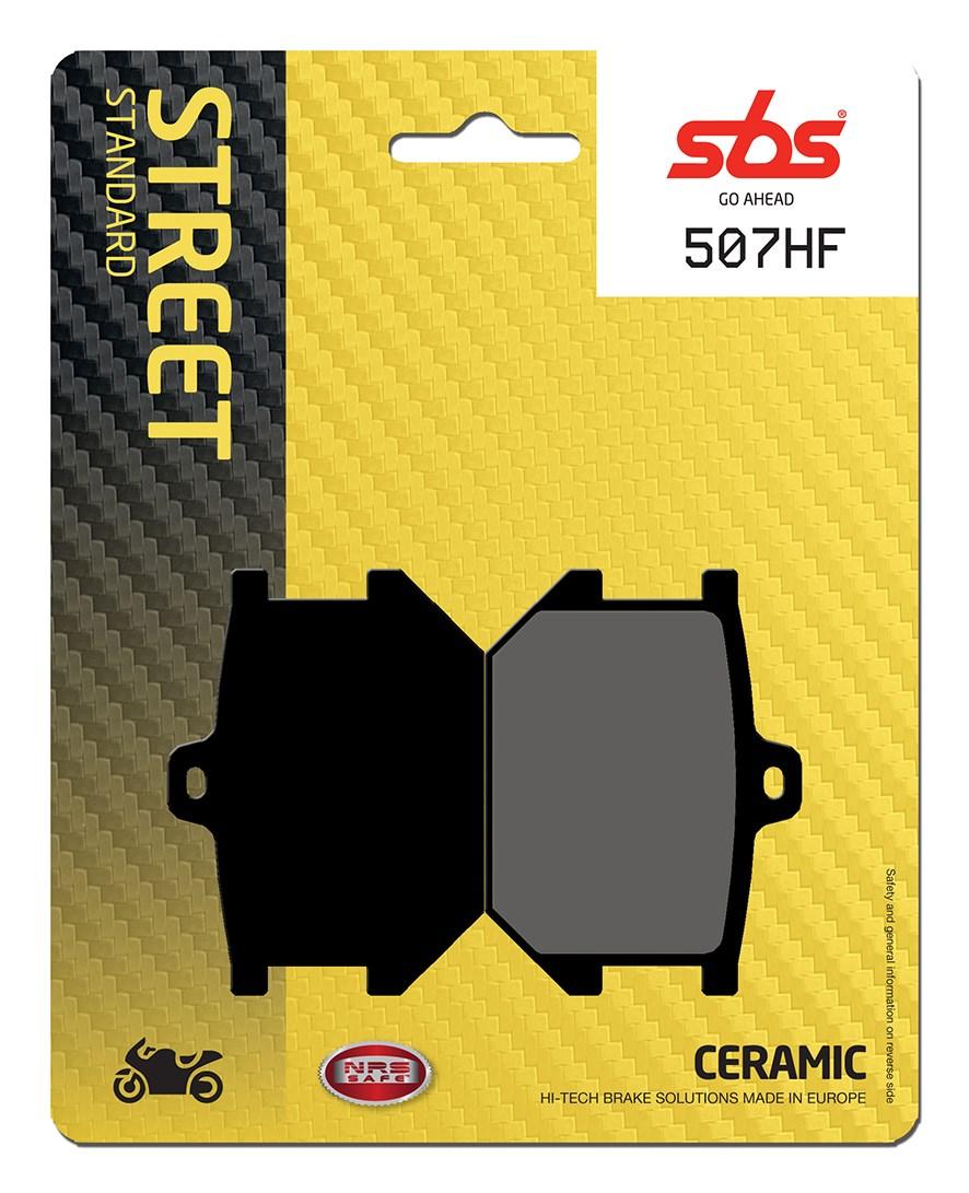 Plaquettes de frein moto SBS 507HF
