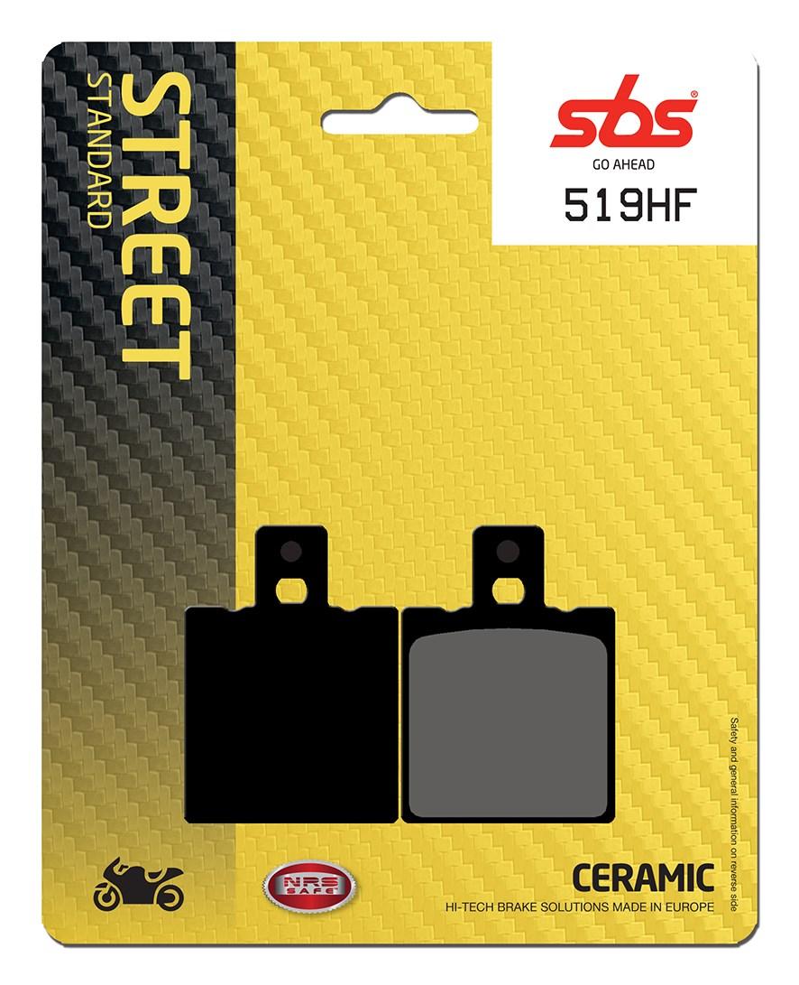 Plaquettes de frein moto SBS 519HF