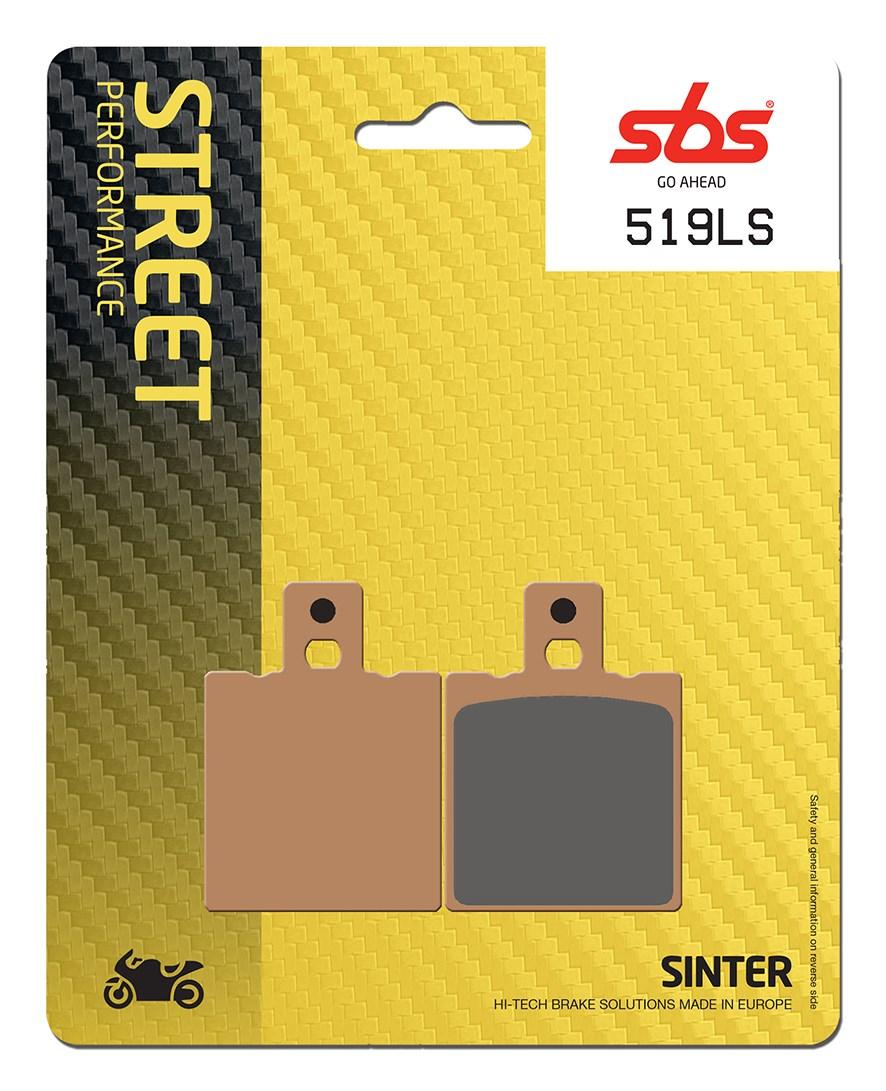 Plaquettes de frein moto SBS 519LS