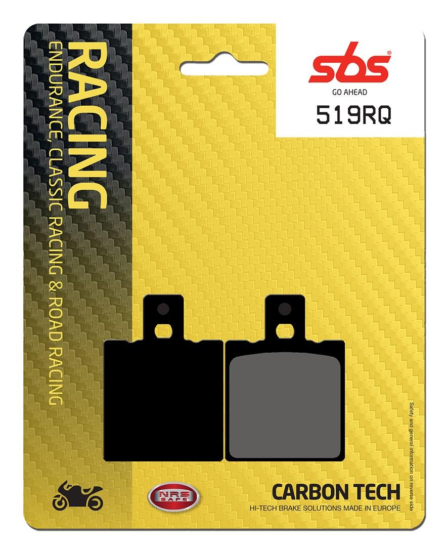 Plaquettes de frein moto racing SBS 519RQ