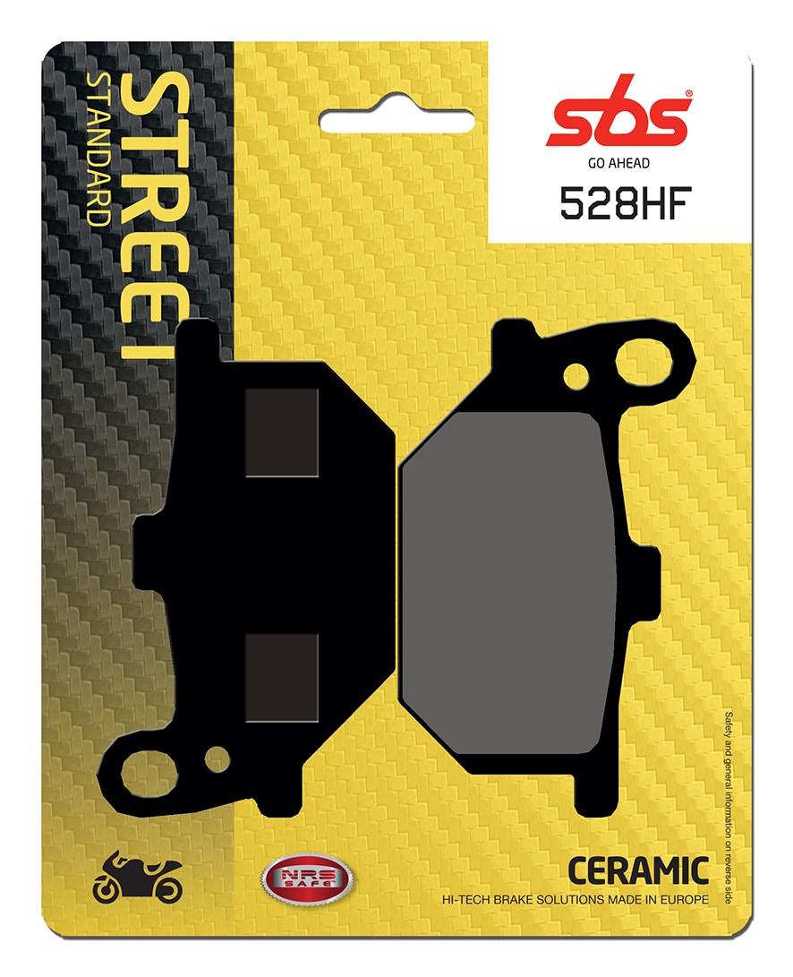 Plaquettes de frein moto SBS 528HF
