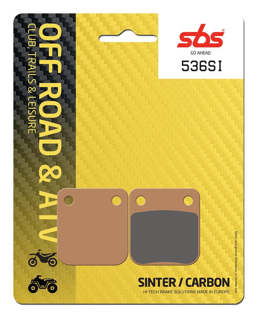 Plaquettes de frein moto SBS 536SI