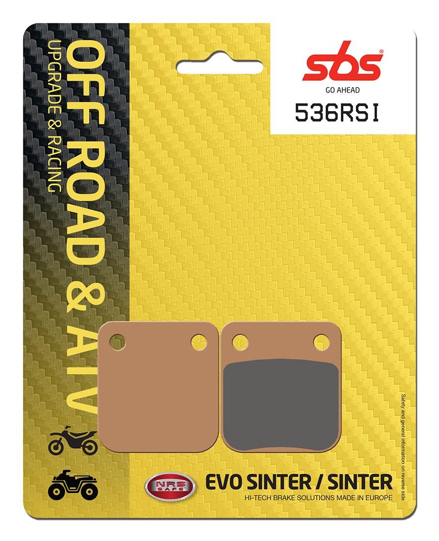 Plaquettes de frein moto racing SBS 536RSI