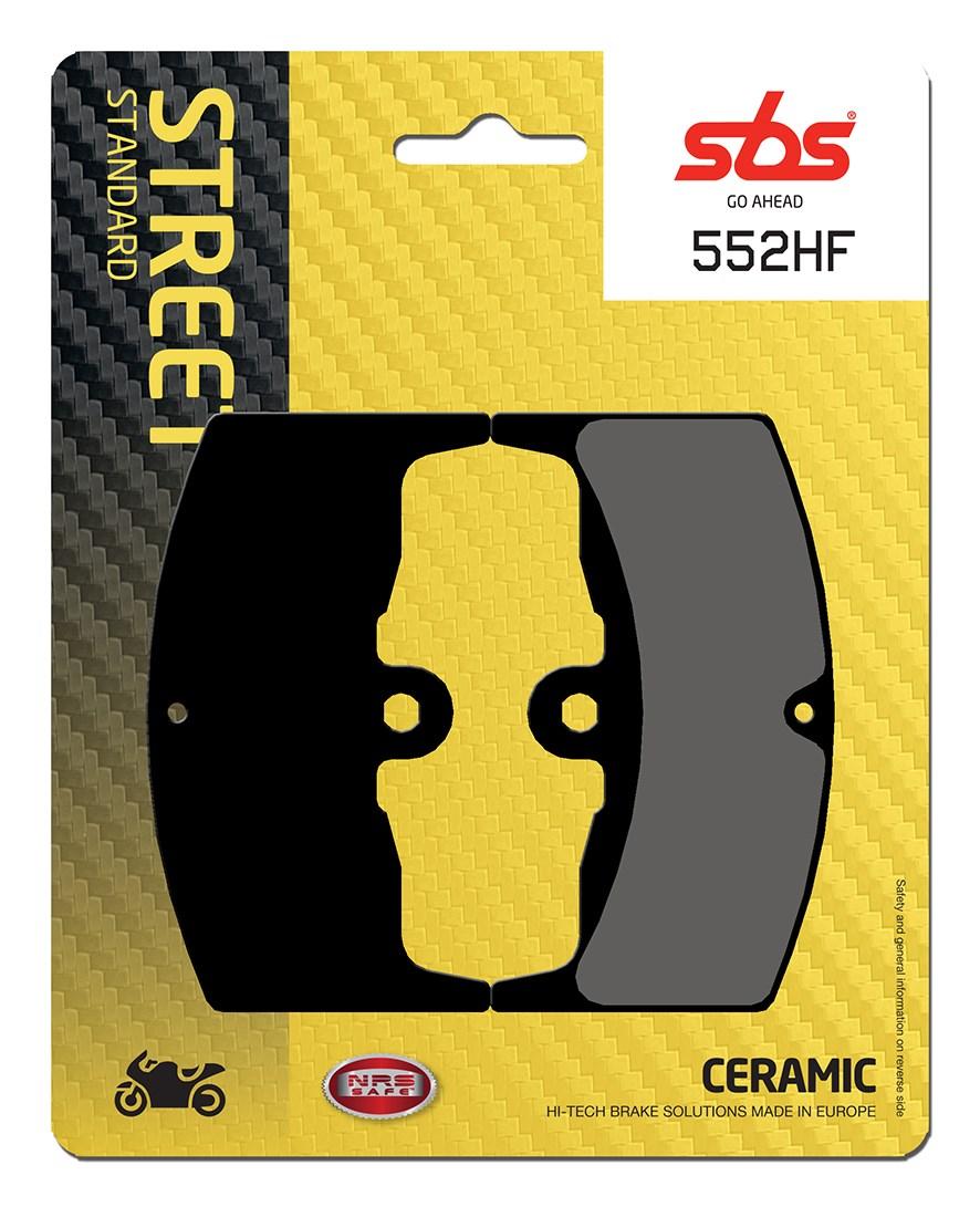 Plaquettes de frein moto SBS 552HF
