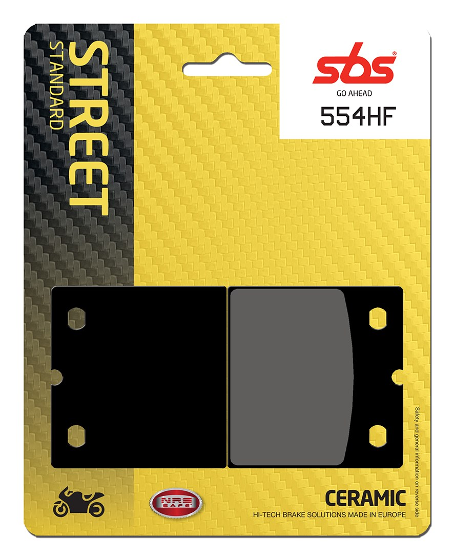 Plaquettes de frein moto SBS 554HF