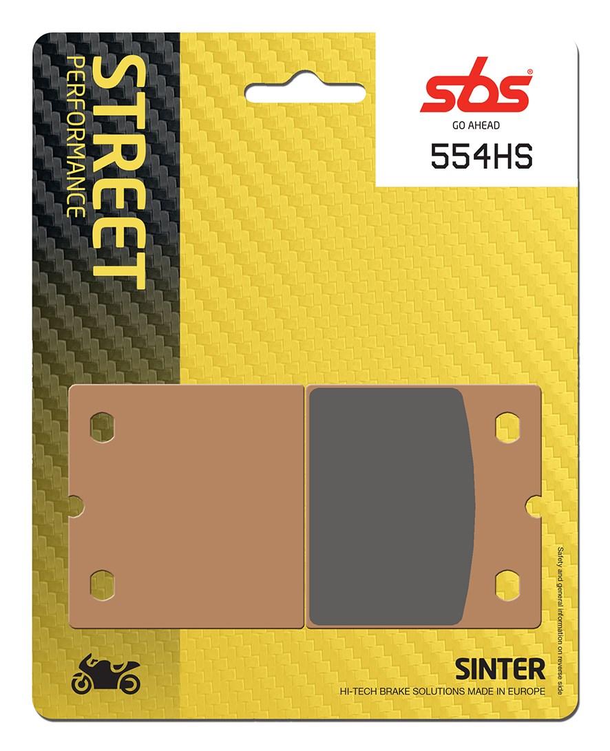 Plaquettes de frein moto SBS 554HS