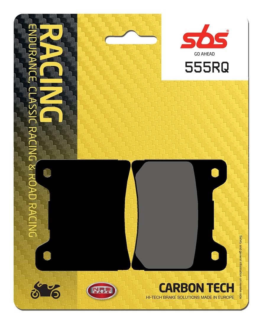 Plaquettes de frein moto racing SBS 555RQ