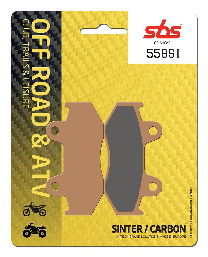 Plaquettes de frein moto SBS 558SI
