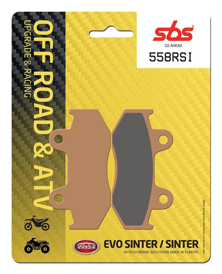 Plaquettes de frein moto racing SBS 558RSI