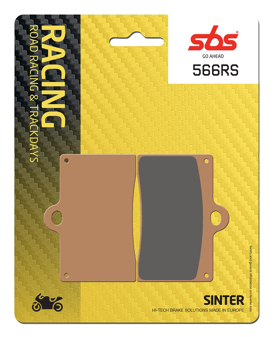 Plaquettes de frein moto racing SBS 566RS
