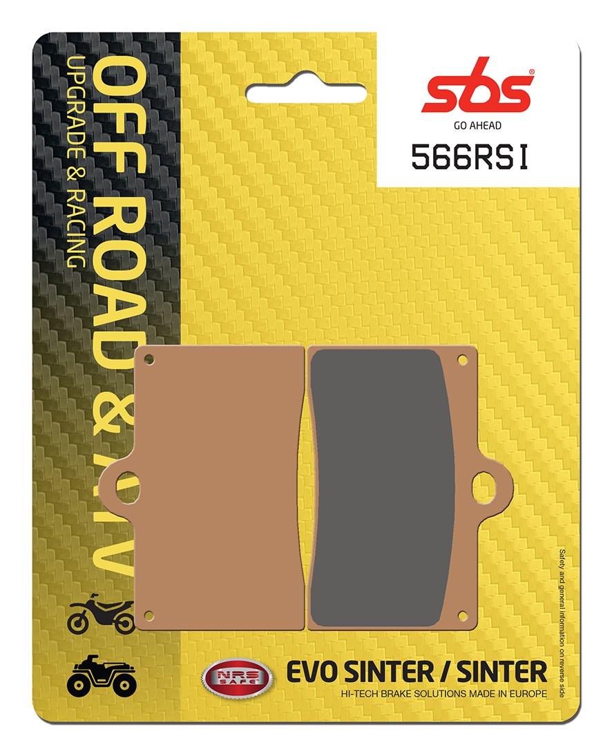 Plaquettes de frein moto racing SBS 566RSI
