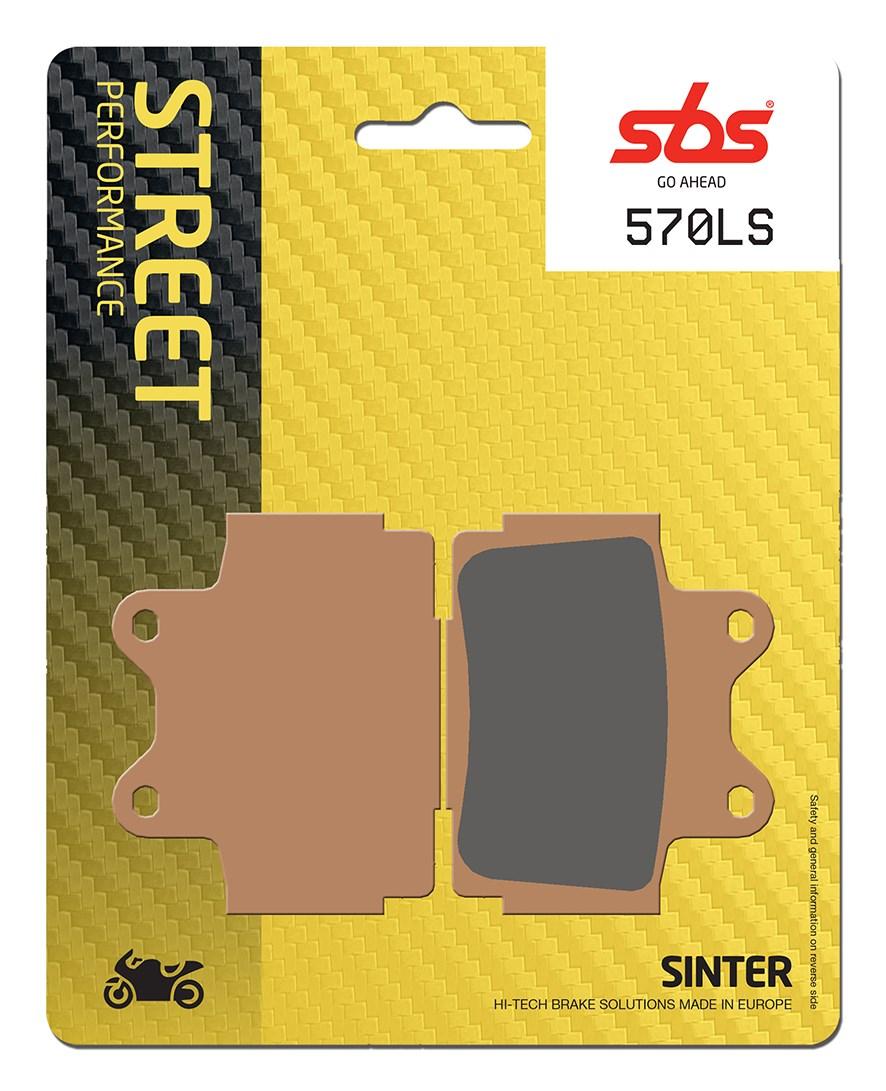 Plaquettes de frein moto SBS 570LS