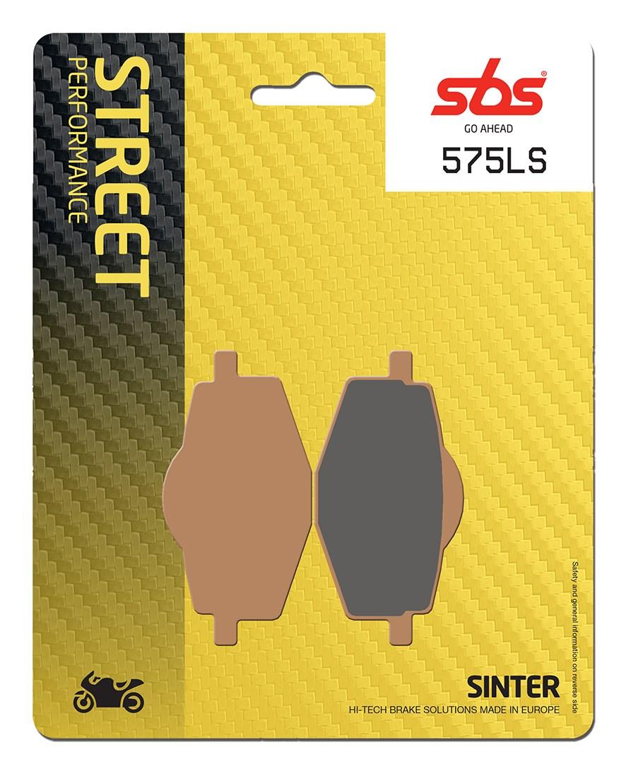 Plaquettes de frein moto SBS 575LS