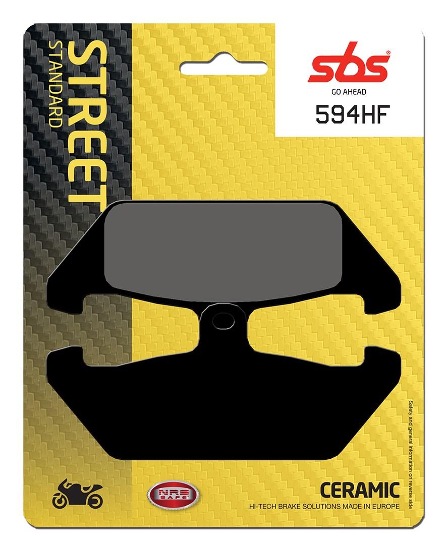 Plaquettes de frein moto SBS 594HF