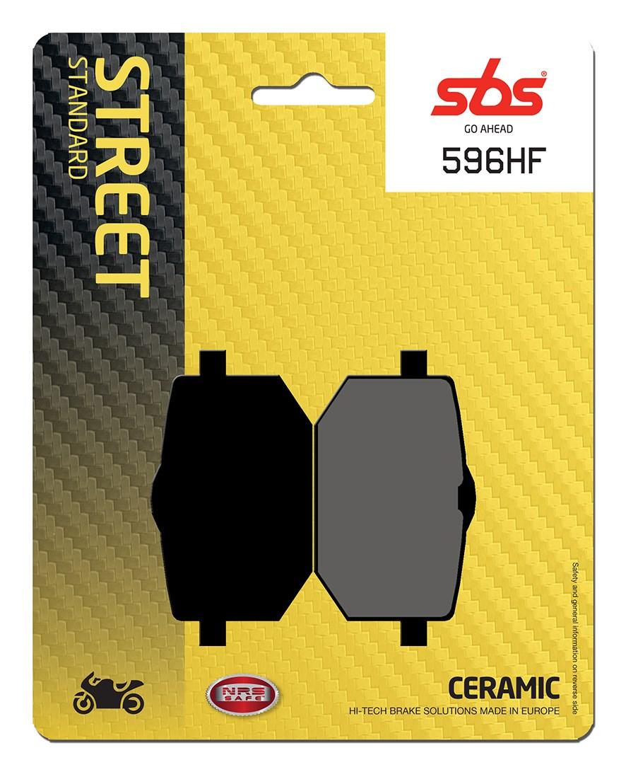 Plaquettes de frein moto SBS 596HF