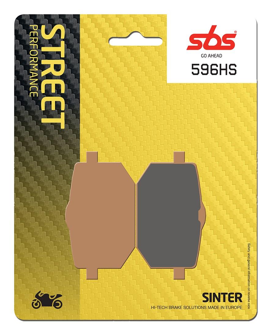Plaquettes de frein moto SBS 596HS