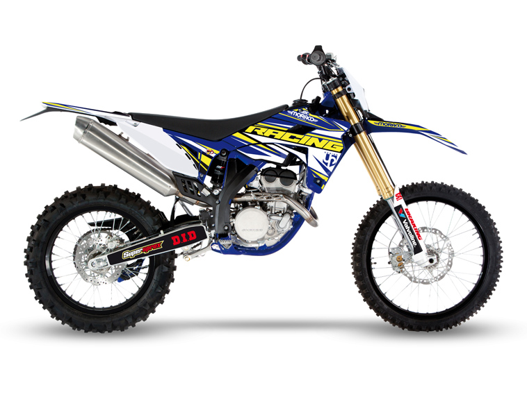Kit Deco UP IRON SHERCO SE-R - SEF-R 250 - 300 - 450 2014-2016 BLEU