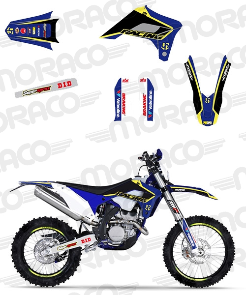 Destockage Kit Deco UP SHERCO 250-300-450 SE-R/SEF-R L (2017)