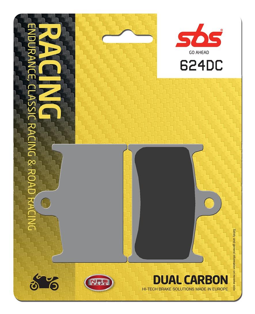Plaquettes de frein moto racing SBS 624DC