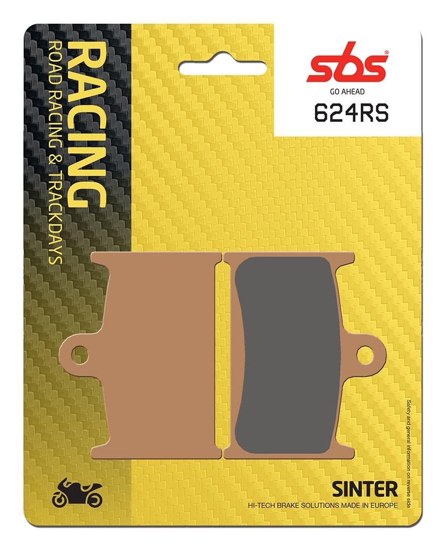 Plaquettes de frein moto racing SBS 624RS