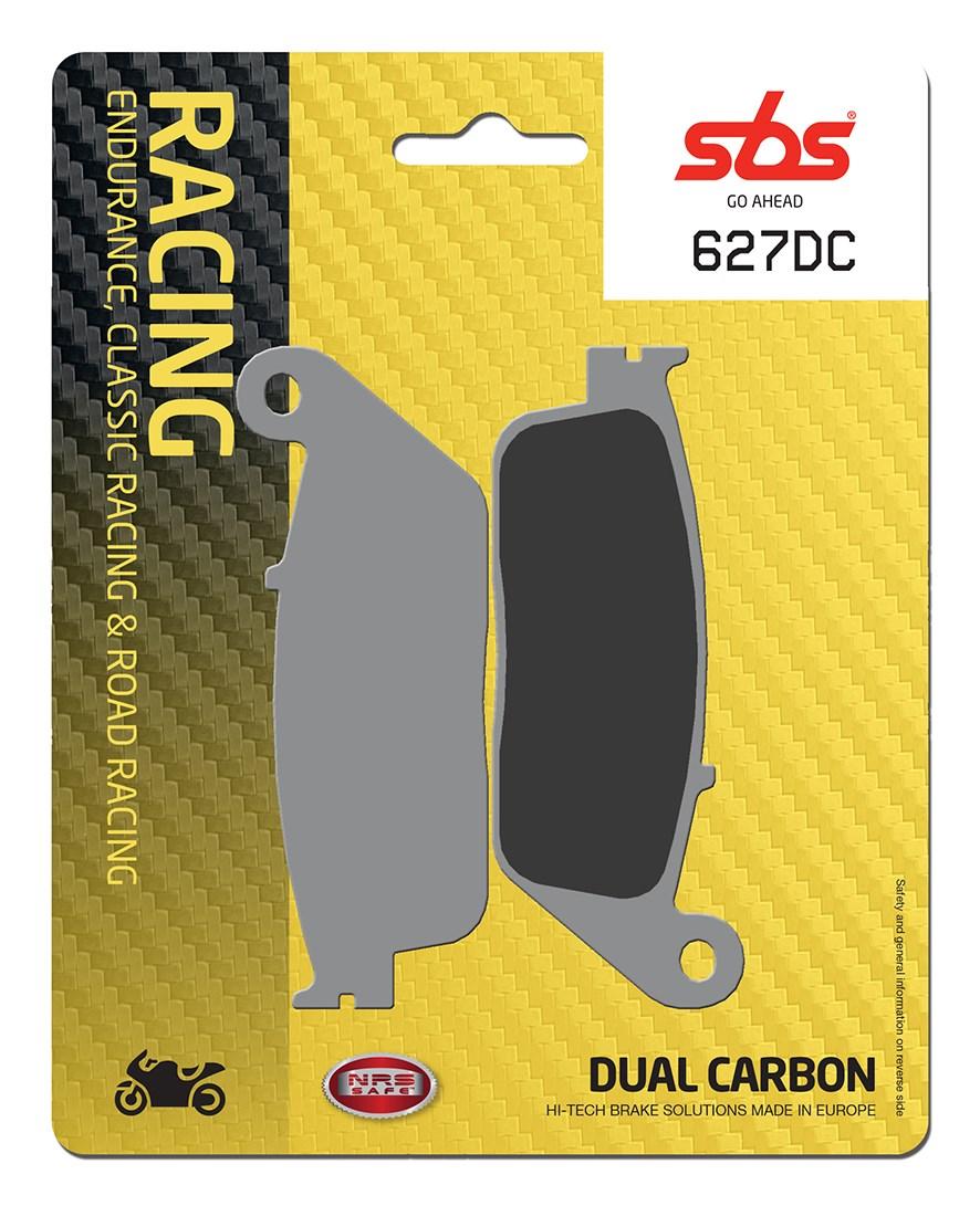 Plaquettes de frein moto SBS 627DC