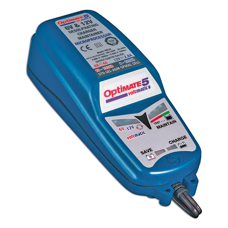 Optimate 5 Chargeur-Testeur TM-222