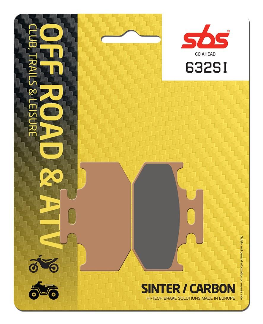 Plaquettes de frein moto SBS 632SI