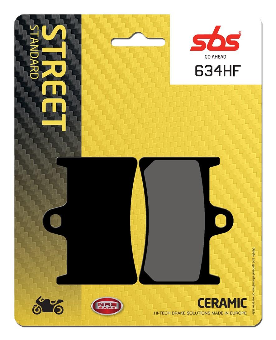 Plaquettes de frein moto SBS 634HF