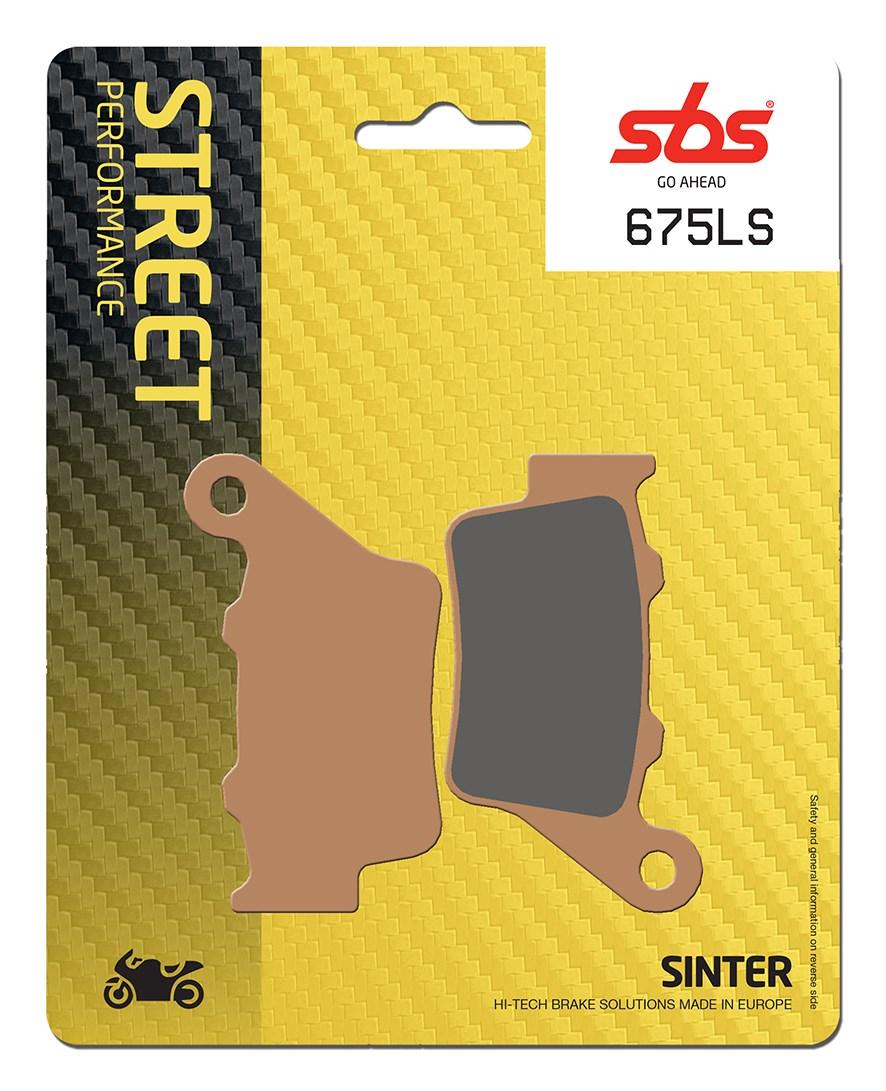 Plaquettes de frein moto SBS 675LS