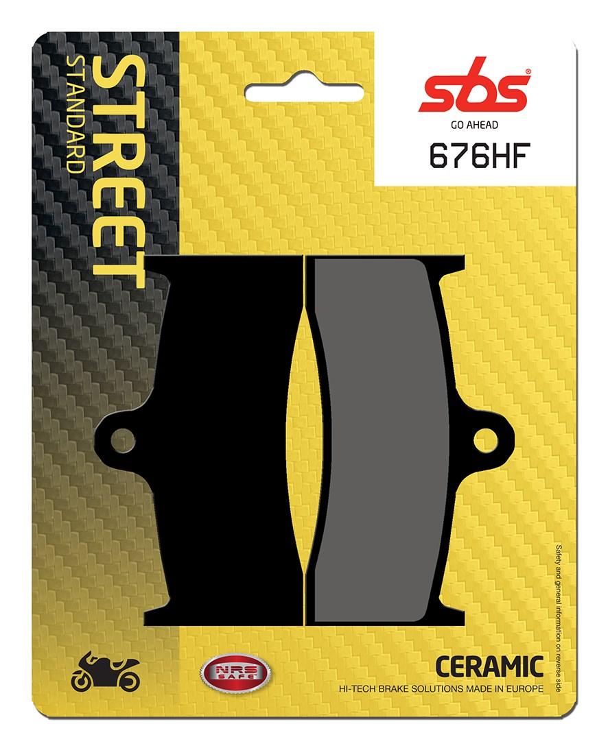 Plaquettes de frein moto SBS 676HF