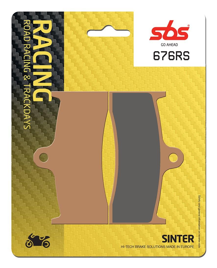Plaquettes de frein moto racing SBS 676RS